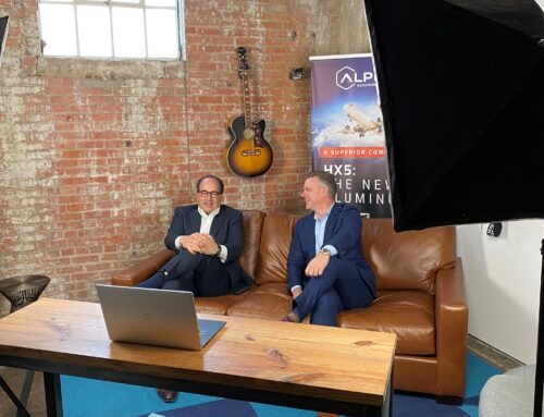 Discussing Revolution & Resilience Despite a Year of Challenges on The Aerospace Executive Podcast